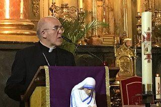 Osoro presidirá los últimos martes de cada mes una misa en San Antón por las personas que mueren solas