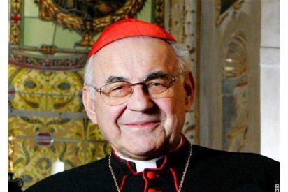 Pésame del Papa por la muerte del cardenal Vlk