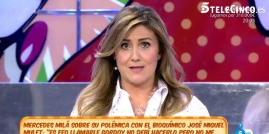 Carlota Corredera rompe a llorar al dar una noticia que deja a todos los colaboradores de 'Sálvame' boquiabiertos