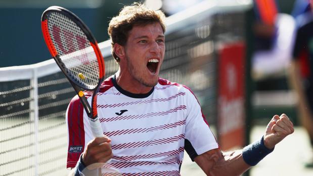 Pablo Carreño es incapaz de impedir la final suiza entre Wawrinka y Federer en Indian Wells