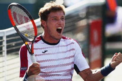 Pablo Carreño reta al suizo Wawrinka en semifinales de Indian Wells