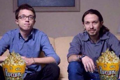 La parroquia sacude a los sectarios de Podemos con el televisor en las narices