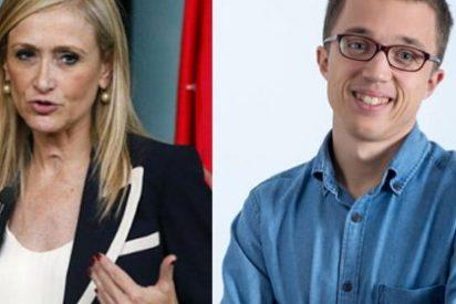 Indignación en Twitter con Cifuentes por sus babosas alabanzas a Iñigo Errejón
