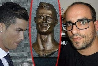 ¿Sabes porqué el busto de Cristiano Ronaldo es deforme?