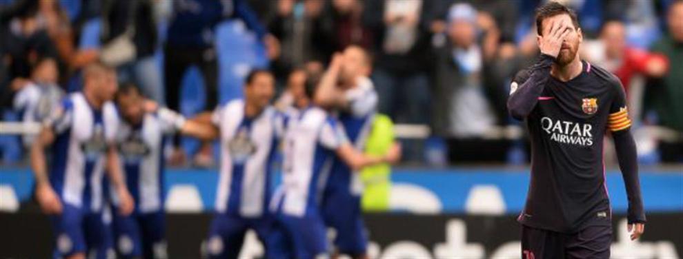 ¡Desastre! Messi señala al culpable de la derrota del Barça ante el Deportivo
