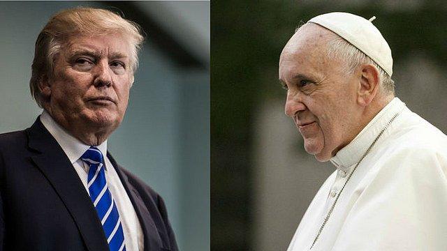 Trump felicita al Papa por su cuarto aniversario