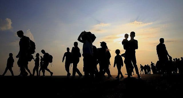 El camino de los migrantes por México