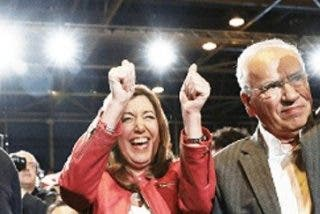 PSOE: Susana Díaz arranca su carrera para liderar el PSOE y acabar con Pedro Sánchez