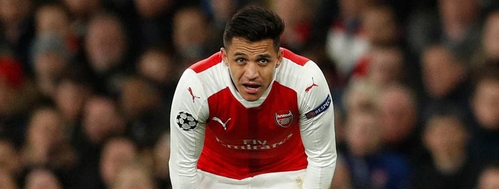 El Arsenal mete a Alexis Sánchez en un cambio de cromos bestial con el Real Madrid