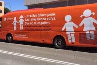 """El autobús de las """"verdades innegociables"""""""