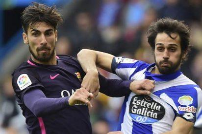 El crack que da la cara por André Gomes en el vestuario del Barça