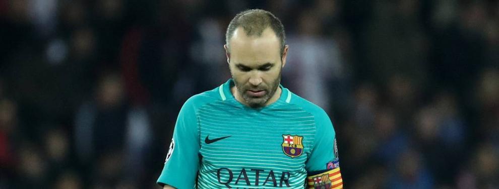 El drama de Iniesta llega al Real Madrid: el capitán del Barça está destrozado