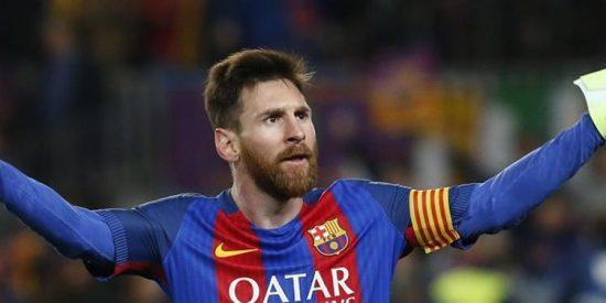 Leo Messi se escapa en la lucha por el Pichichi