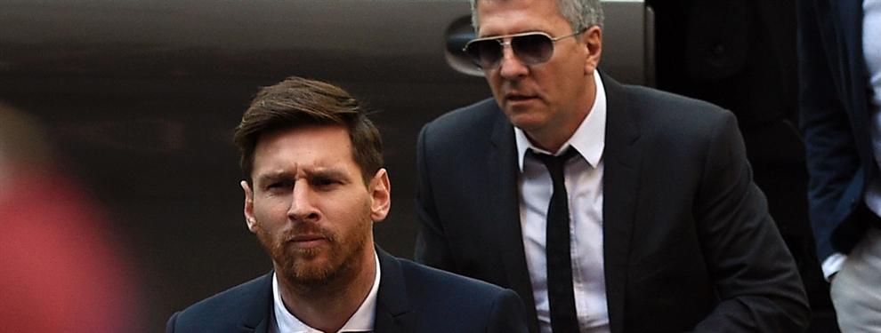 ¡El padre de Messi se lleva una prima millonaria por la renovación con el Barça!