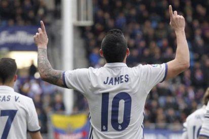 El secreto mejor guardado de James y Zidane en el Real Madrid