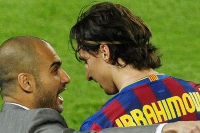 El tremendo reto que le lanza Ibrahimovic a Pep Guardiola