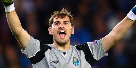 Iker Casillas se convierte en el jugador con más partidos en la historia de la 'Champions'