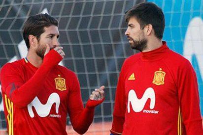 El 'Zasca' a Gerard Piqué de un amigo con mensaje añadido para Sergio Ramos