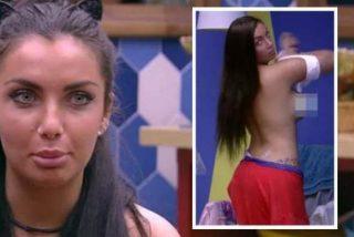 Elettra se estrena en 'Big Brother Brasil' con un 'topless' sorpresa disfrazado de descuido