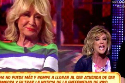 'Sálvame' mete la pata hasta el fondo con el tema de Lydia Lozano y el cáncer de Kiko Hernández