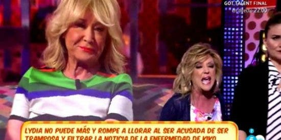 """Lydia Lozano, con el 'culo al aire' ante el caso de Kiko Hernández y su cáncer: """"¡Tramposa, bocazas!"""""""