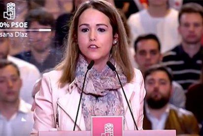 Dimite la 'telonera' de Susana Díaz Estela Goikoetxea tras haber sido pillada con el carrito del helado: mintió sobre su curriculum