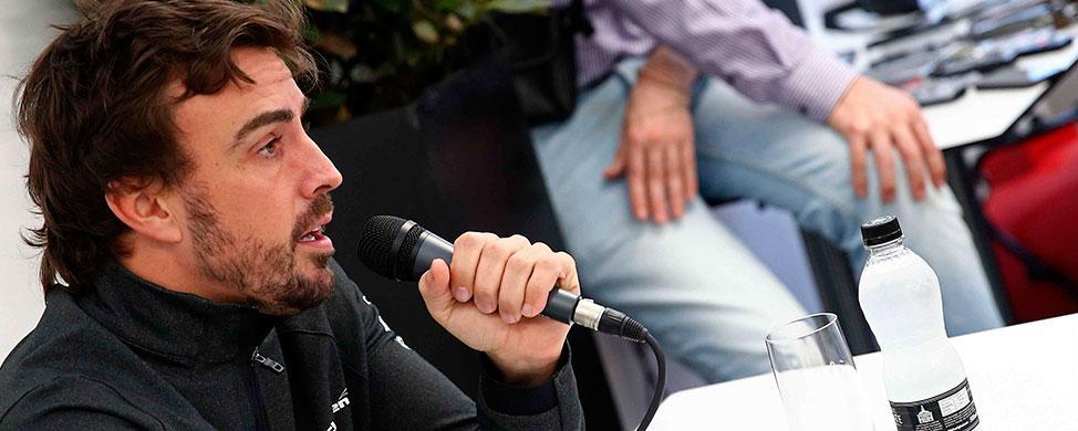 """Fernando Alonso: """"Lo haremos lo mejor posible con lo que tenemos"""""""