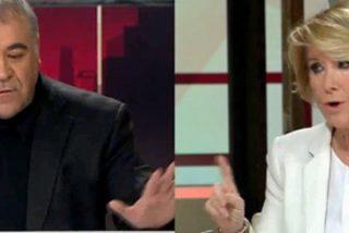 """Aguirre se parte de risa en la cara de Ferreras: """"A usted le entusiasman los podemitas"""""""