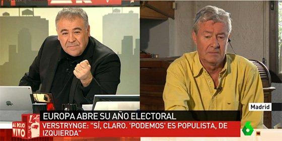 """Verstrynge le chafa el día a Ferreras: """"Podemos y Le Pen son el mismo populismo de izquierdas"""""""