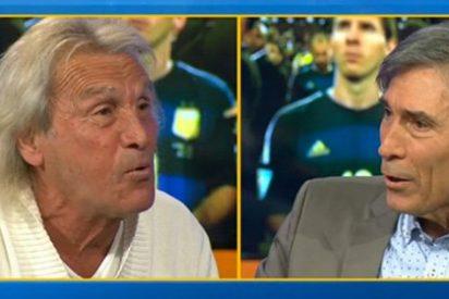 """Salvaje bronca entre el 'Loco' y el 'Lobo' a cuenta de Messi: """"Cállate la boca, Carrasco, hablas como un fanático"""""""