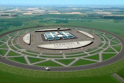 Así serán los futuros aeropuertos circulares