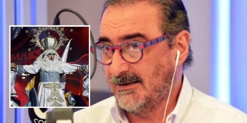 """Carlos Herrera a la 'virgen drag' de Las Palmas: """"Que se disfrace de cómo va su madre"""""""