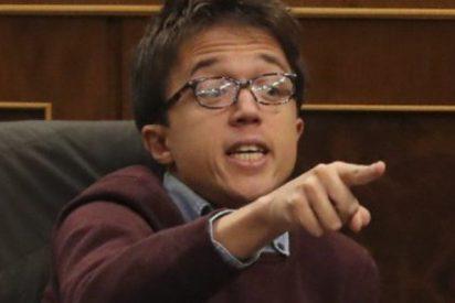 El podemita Errejón se 'flagela' en Twitter tras equivocarse en la votación de la estiba