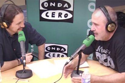 Pablo Iglesias ha perdido la chaveta: se pone a hablar como si fuera su perro en la radio
