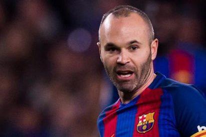 Iniesta suelta una 'bomba' sobre el nuevo entrenador del Barça (ojo a la reacción de Messi)