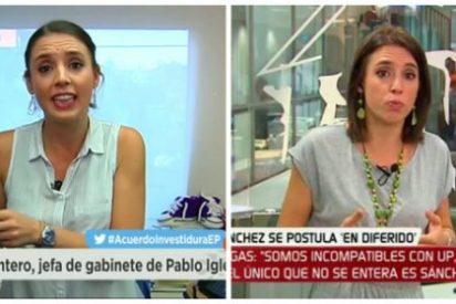 """Jaime González se ceba con Irene Montero tras el revolcón de Soraya: """"Menos teles y más parlamento"""""""