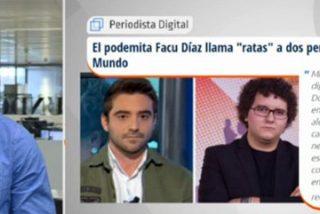 """Javier Negre: """"En Podemos utilizan la intimidación, las amenazas, las miradas de odio y buscan ridiculizarte y poner a todos en tu contra"""""""