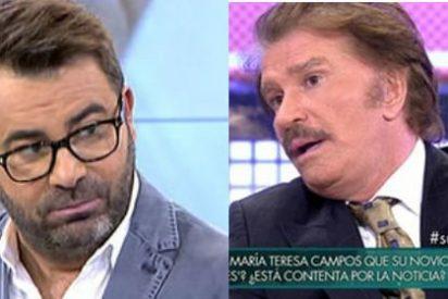 Jorge Javier Vázquez desenmascara a Bigote Arrocet y le vaticina lo peor con María Teresa Campos
