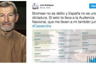Julio 'El Rojo' provoca a la Audiencia Nacional haciéndose un 'Cassandra'