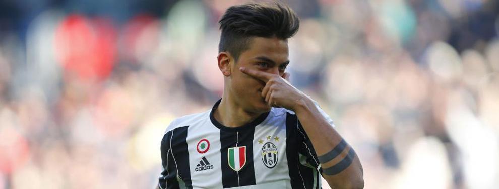 Juventus mete a un crack del Madrid en una negociación por Dybala