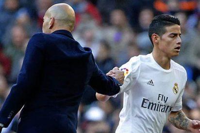 La conversación más caliente entre James y Zidane revoluciona al Real Madrid