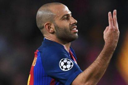 La oferta mareante para sacar a Javier Mascherano del Barça