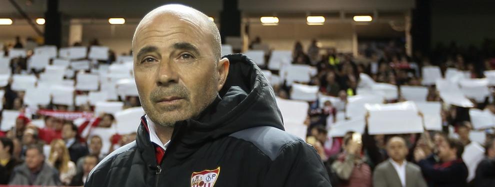 Las condiciones que le pone Jorge Sampaoli al Sevilla para ampliar su contrato