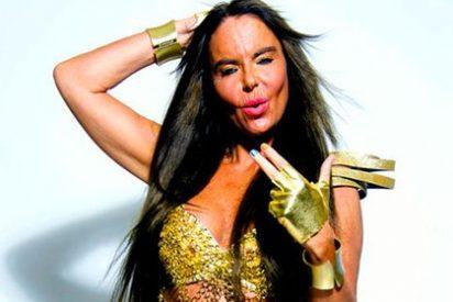 Leticia Sabater ya no sólo despelleja la música...¡también su rostro!