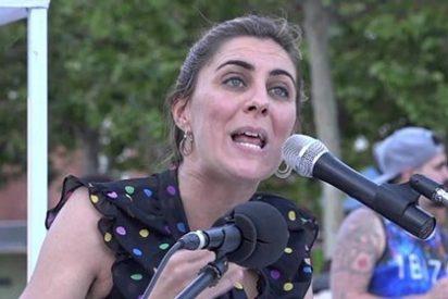 La portavoz podemita en la Asamblea de Madrid se lleva un buen zasca a cuenta del machismo