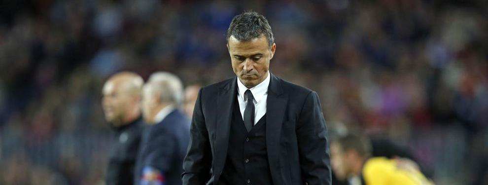 Los jugadores del Barça que traicionaron a Luis Enrique (y la frase que lo mató)