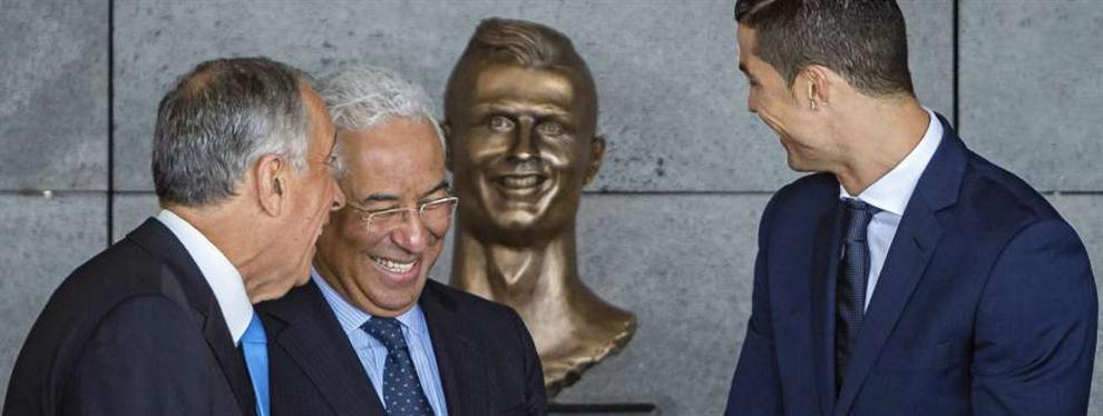 Los secretos del busto deforme de Cristiano Ronaldo: La imposición del portugués