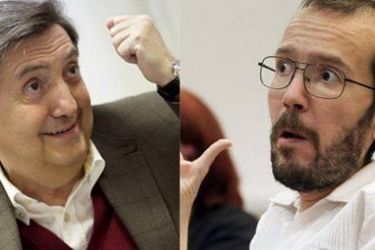 """Mazazo de Losantos a 'Echeminga': """"Los españoles te pagamos la silla de ruedas mientras defraudabas a la Seguridad Social"""""""