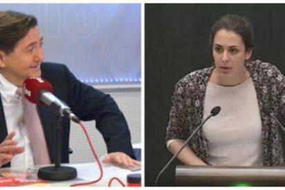 """Losantos se desata contra Rita Maestre: """"Eres una analfabeta incapaz siquiera de mirar la Wikipedia"""""""