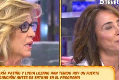 Lydia Lozano se pone como el bicho del pantano con María Patiño